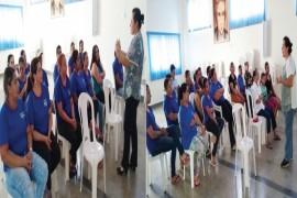 Funcionários do Lar São Vicente recebem formação