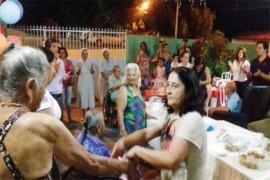 Casa de Repouso Sagrada Família de Posse comemora dia do idoso.