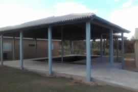 Piscina de hidroginástica do Lar São Vicente de Paulo está prestes a ser concluida